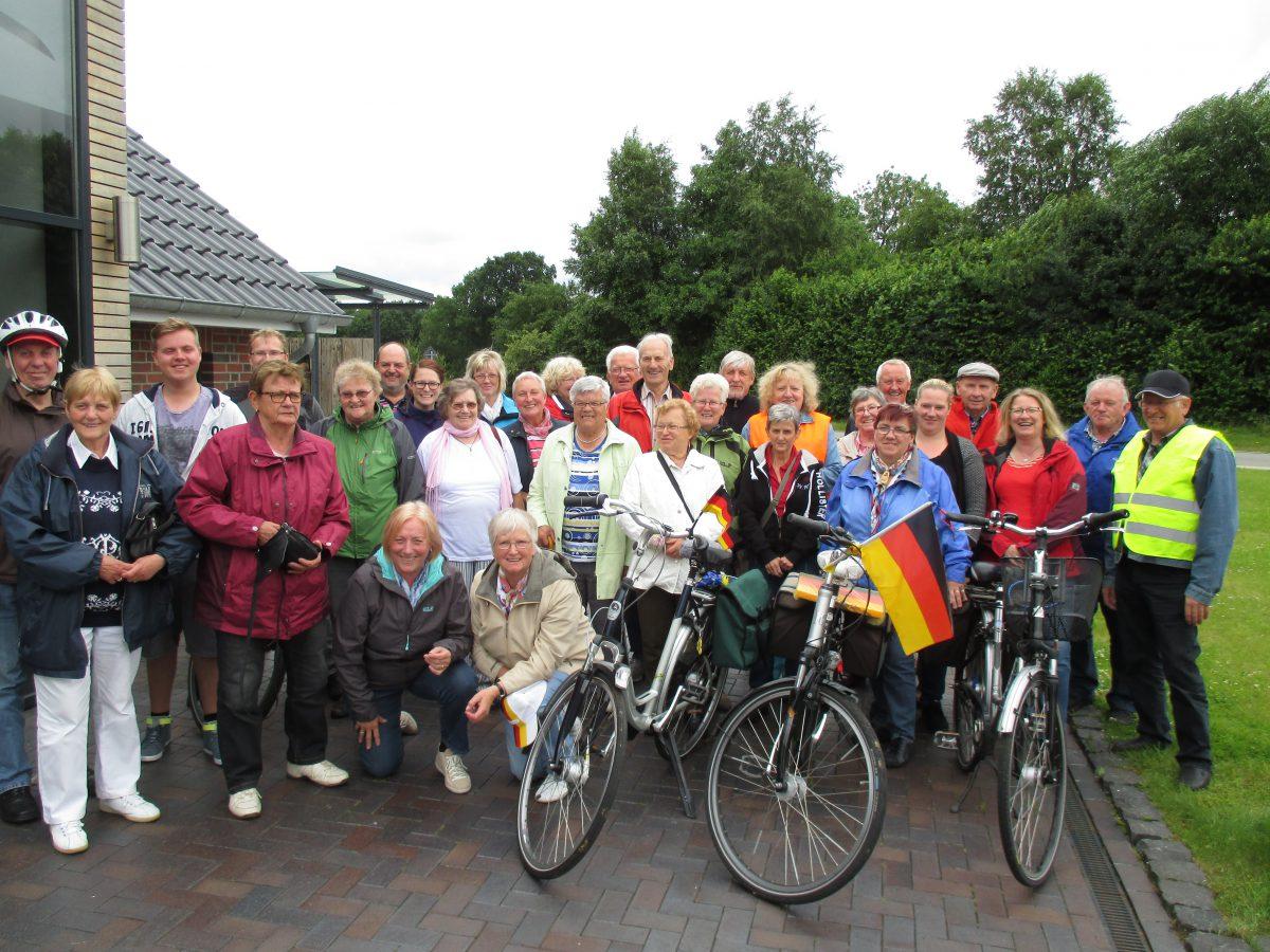 """Unsere """"Fahrradtour""""  Hammrich Richtung Westoverledingen 2016"""