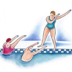 Wassergymnastik wieder möglich