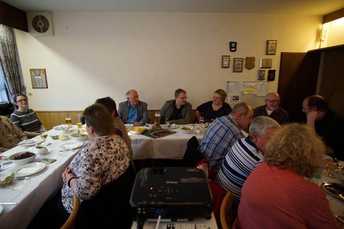 """Jahreshauptversammlung des """"GSV Gesundheitssportverein Rhauderfehn e.V.""""  mit vielen Mitgliedern und Gästen."""